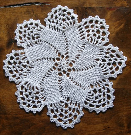 point fantaise crochet