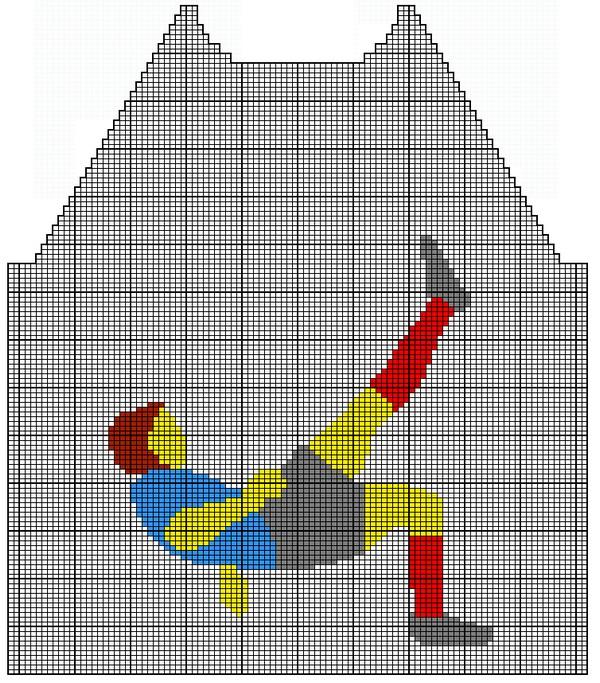 grille tricot footballeur 10 ans