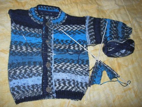 gilet tricot himalaya