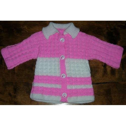 FICHE TRICOT veste layette baby soft