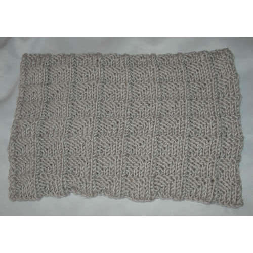 FICHE TRICOT snood big fun du jeudi