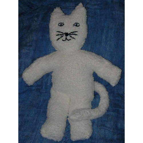 peluche chat