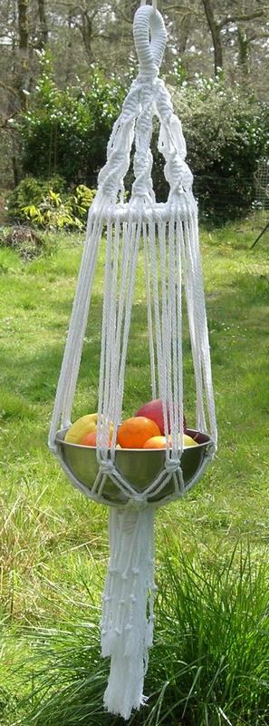 KIT MACRAME suspension 80 cm