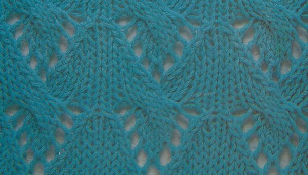 070613 - Point fantaisie tricot phildar ...
