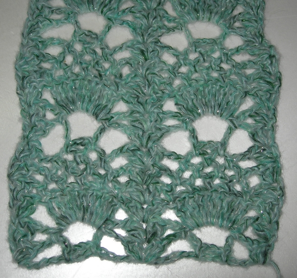 point fantaisie au crochet